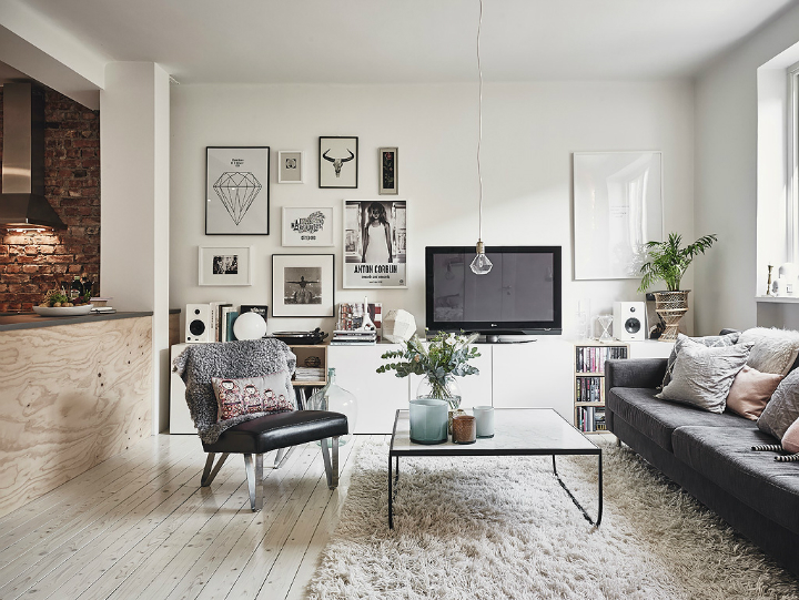 Grey Tones And Functionality scandi home interior