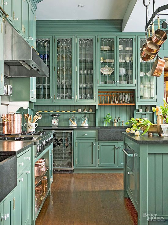 Ideas And Expert Tips On Glass Kitchen Cabinet Doors | Decoholic