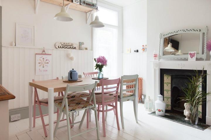 modern vintage home interior 12