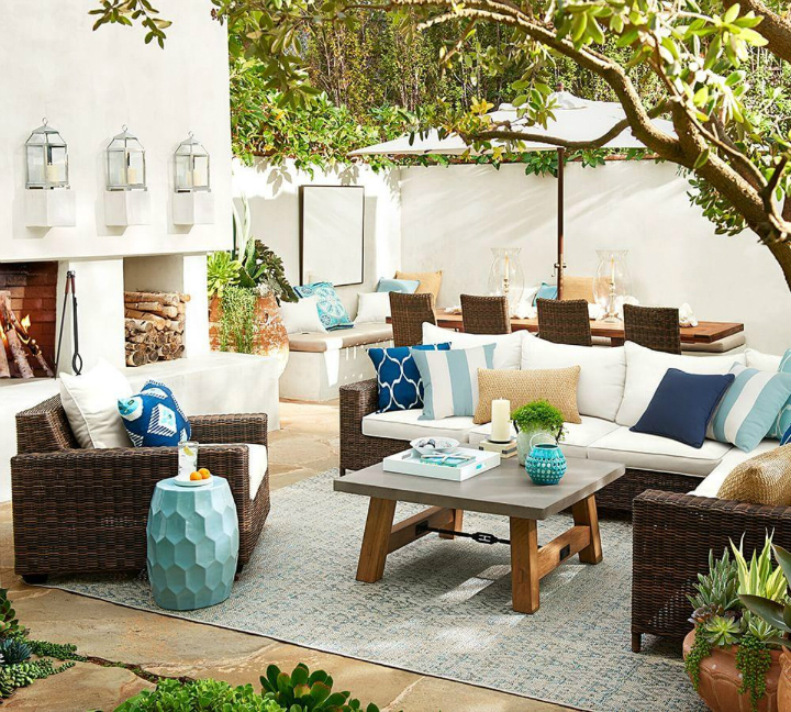 Does Pottery Barn Have Furniture In Stock: 4 Tips To Create A Cool Outdoor Space