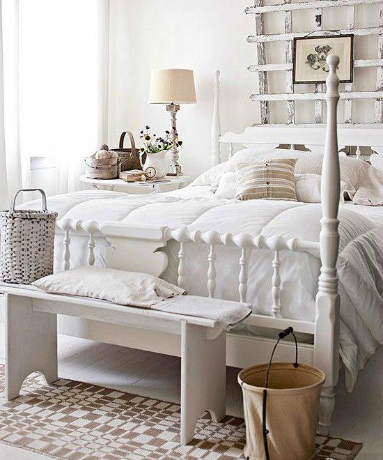 Cottage Style Bedroom design 8
