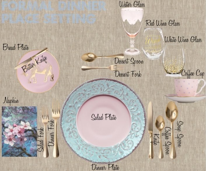 10 Steps to Create a Formal Table Setting & 10 Steps to Create a Formal Table Setting - Decoholic