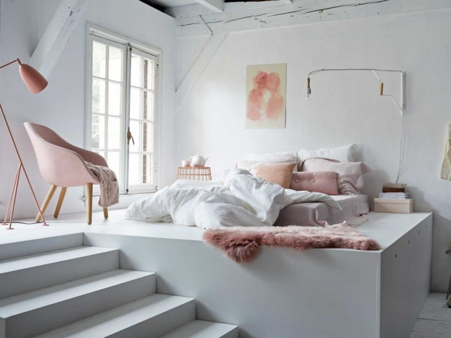 Brilliant Pastel Bedroom Design Idea