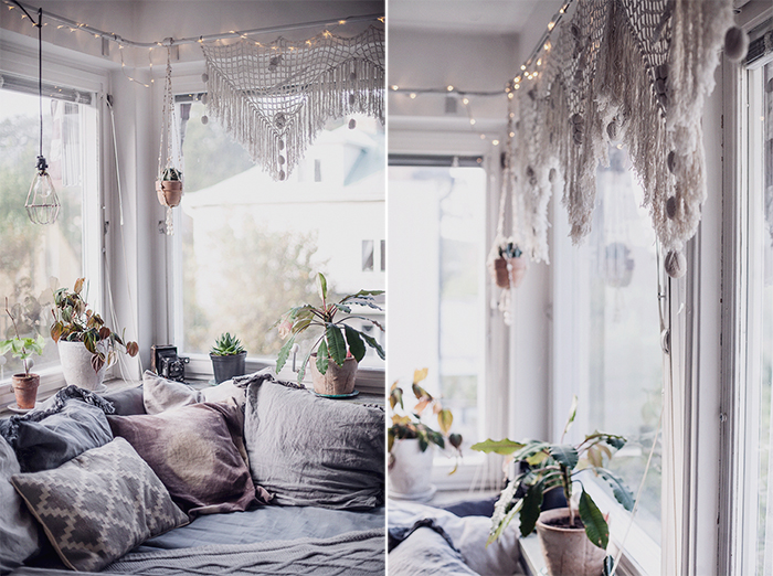 Cozy Home That Blend Vintage With Modern Boho 2