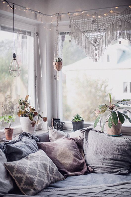 Cozy Home That Blend Vintage With Modern Boho Decoholic