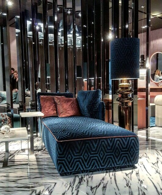 Fendi Casa 2016 Collection Is All About Blue Velvet and Metals