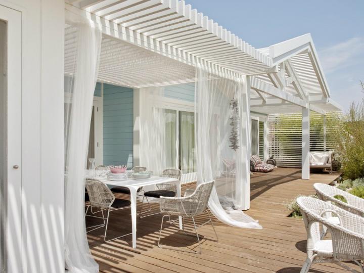 Modernized Cottage Style home exterior 21