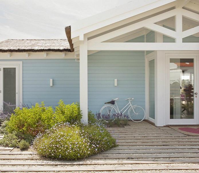 Modernized Cottage Style home exterior 24