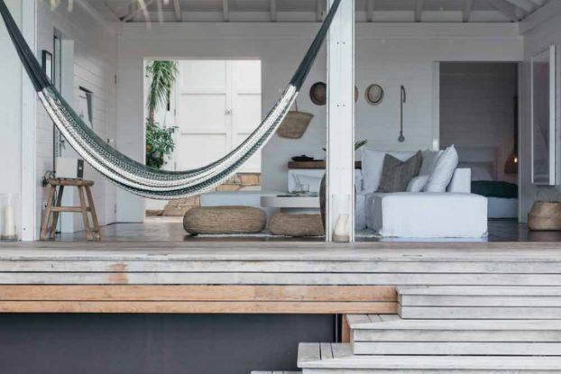 dreamy beach house on Caribbean island of St. Barts