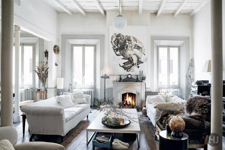 Pretty Adorable and Stylish Italian Apartment