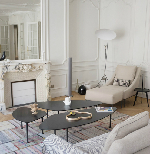 Beautiful french interiors by veronique cotrel decoholic for Decoration interieur haussmannien