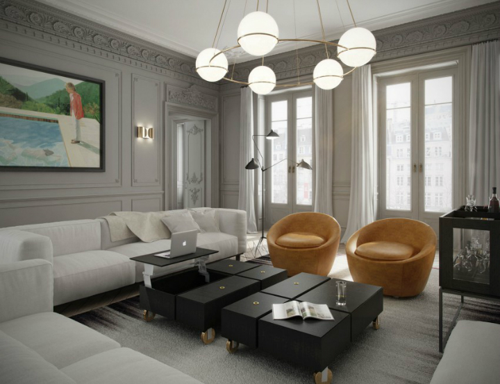 The Essence of a Parisian Apartment 2