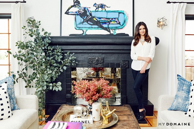 Nina Dobrev's Bright California-Cool Bungalow 2