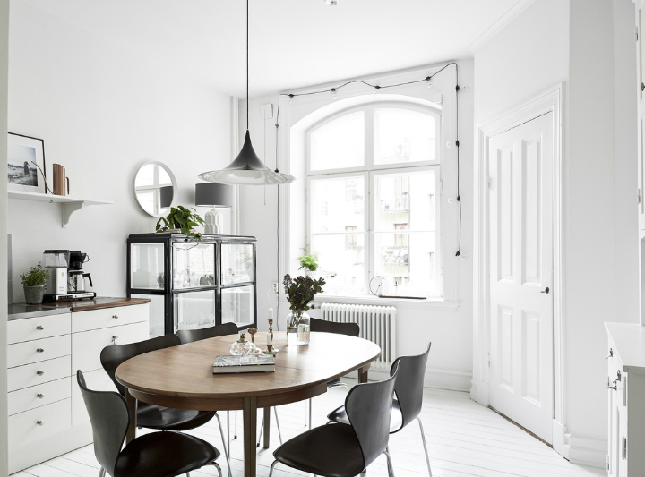 Scandinavian stylish apartment interior design idea 13