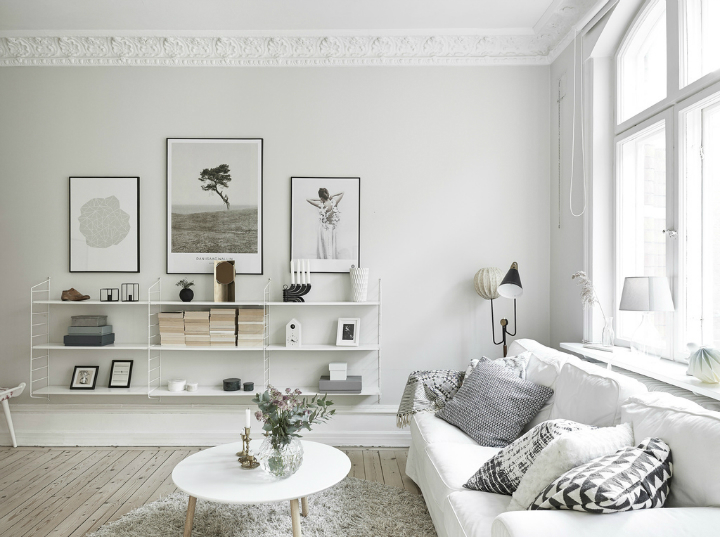 Scandinavian stylish apartment interior design idea 3