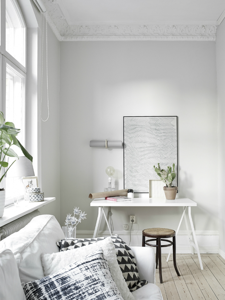 Scandinavian stylish apartment interior design idea 6