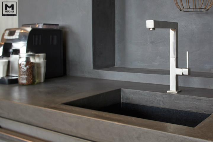 Concrete Kitchen Design 3