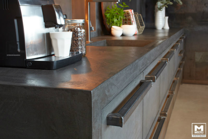 Concrete Kitchen Design 4