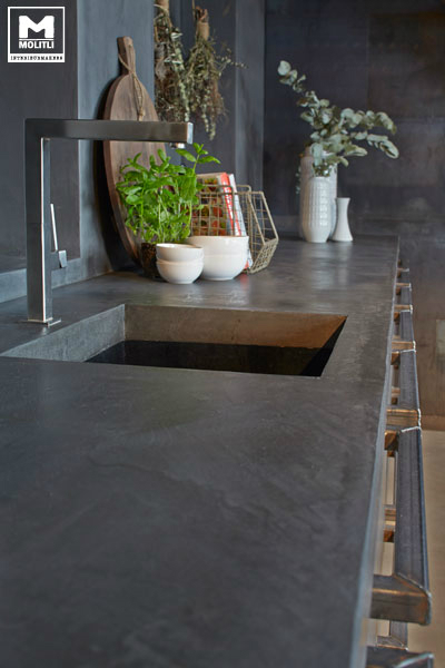 Concrete Kitchen Design 7