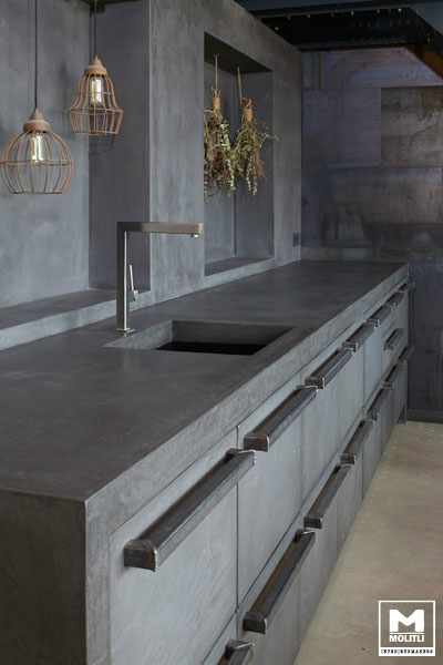 Concrete Kitchen Design 9