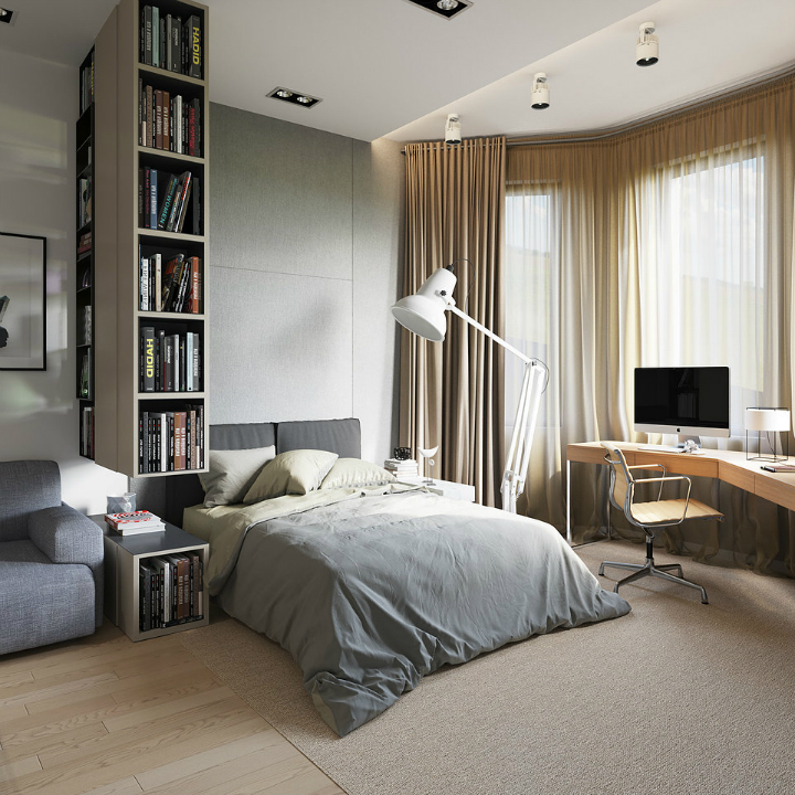 contemporary minimalistic interior design 2