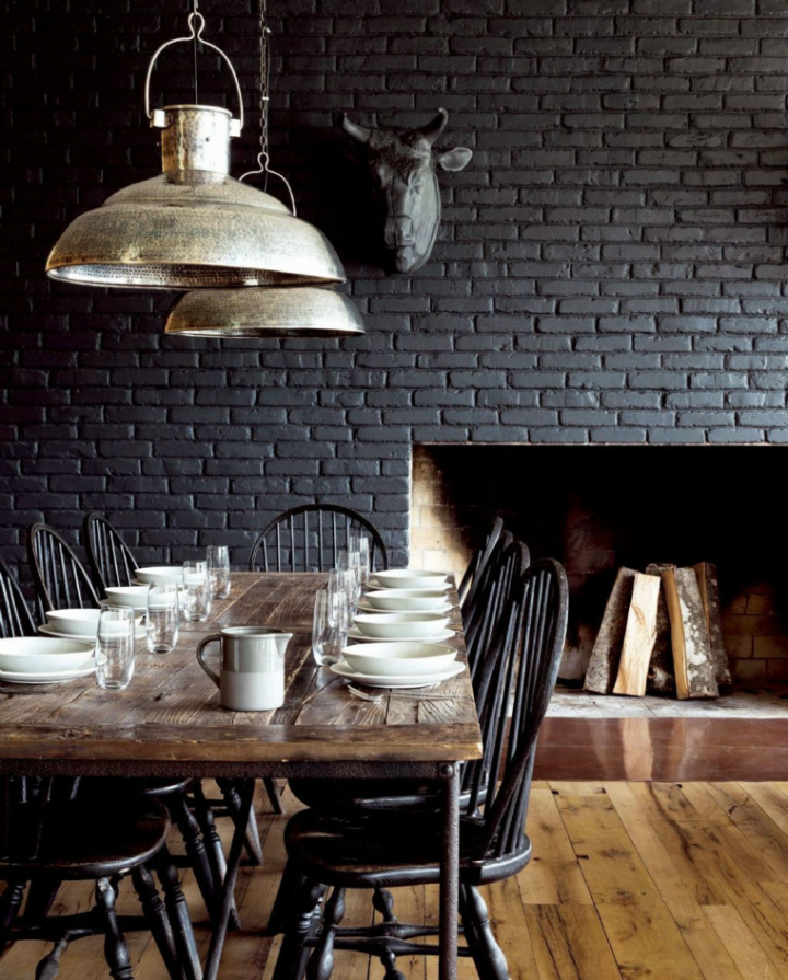 industrial dining room simple idea 7