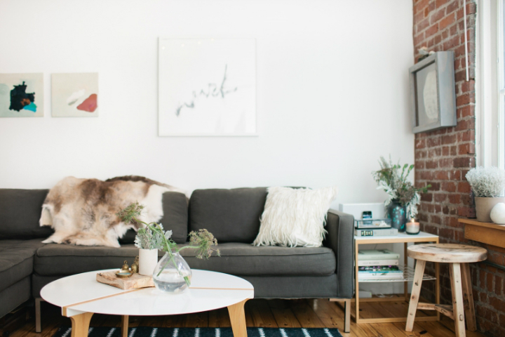 Beautiful Living Space on a Budget 3