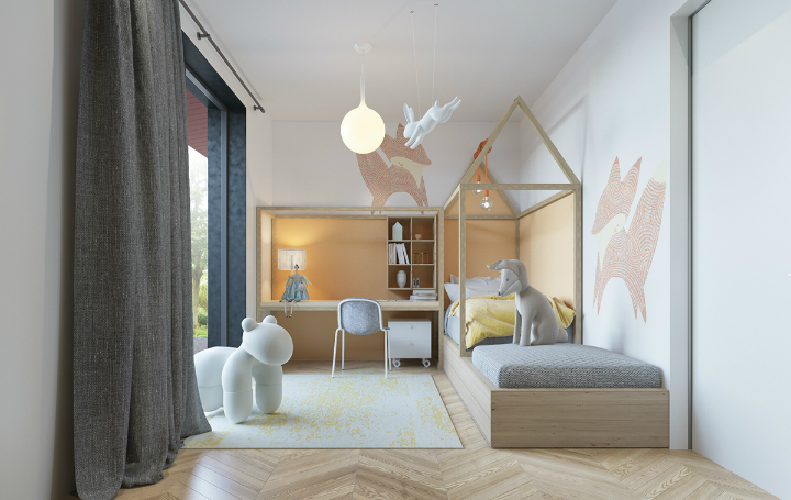 Beautiful and Unusual Girl's Room