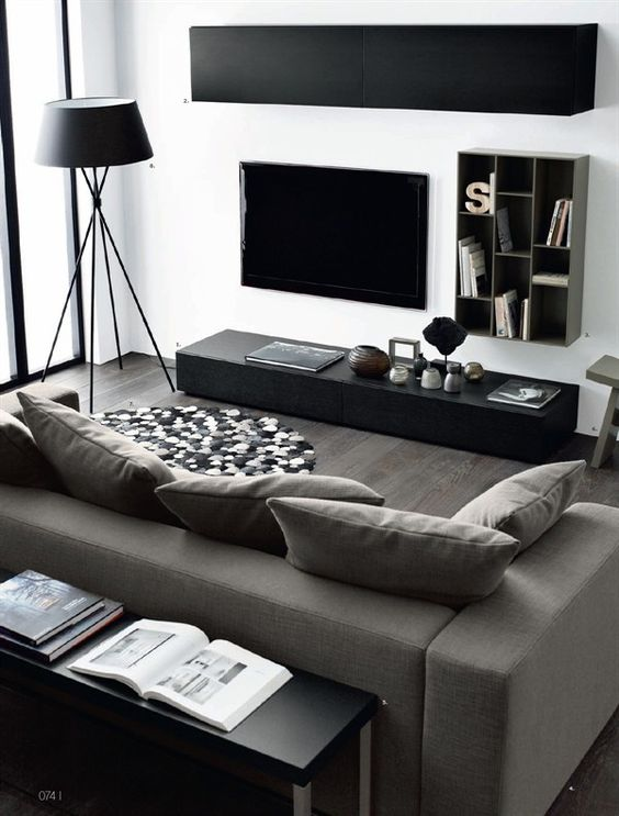 . 48 Black and White Living Room Ideas   Decoholic
