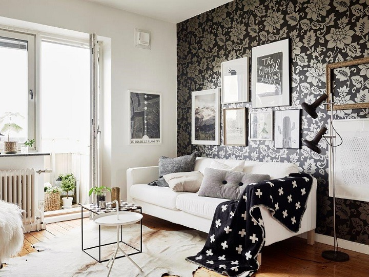 48 black and white living room ideas decoholic - Black accessories for living room ...