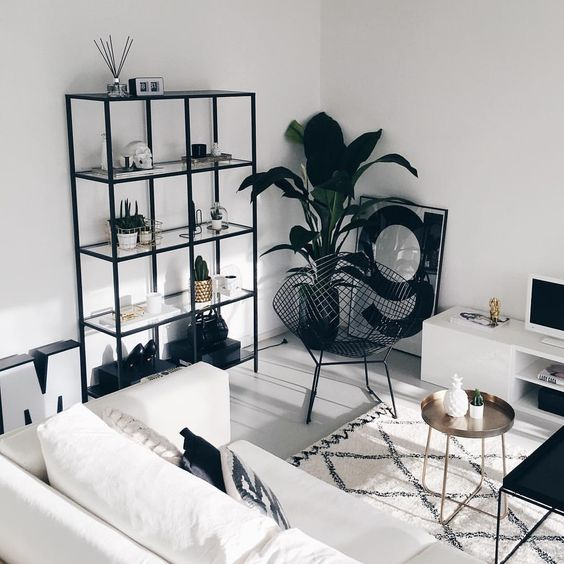 48 Black and White Living Room Ideas | Decoholic