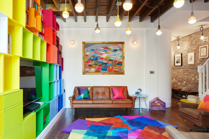 Fun Stylish and Colorful Apartment 6