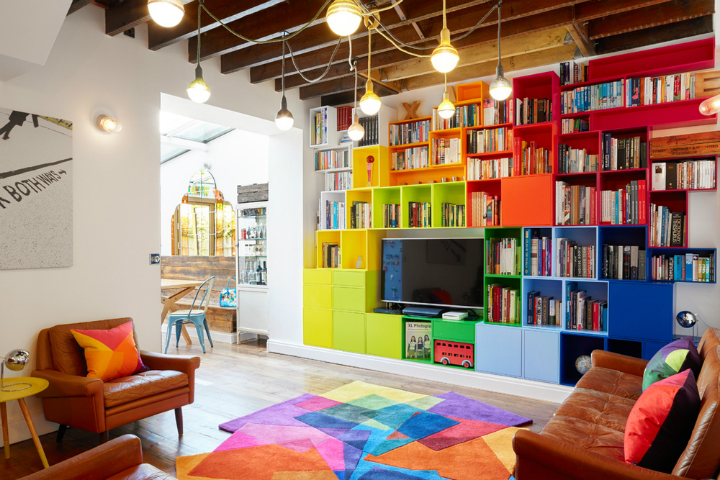Fun Stylish and Colorful Apartment 7
