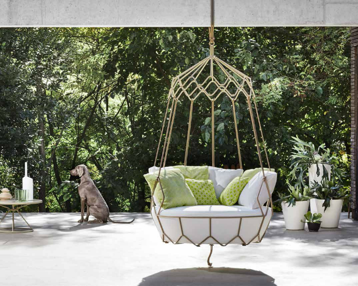 outdoor Gravity swing sofa 3