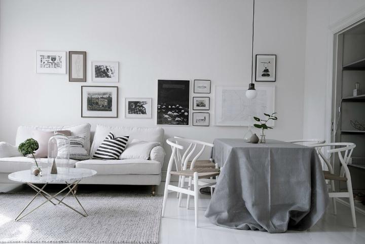 White With Grayish Tones apartment interior 11