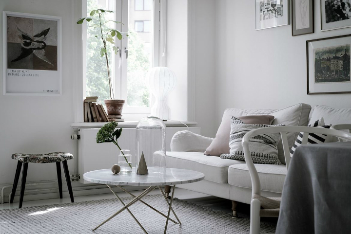 White With Grayish Tones apartment interior 13