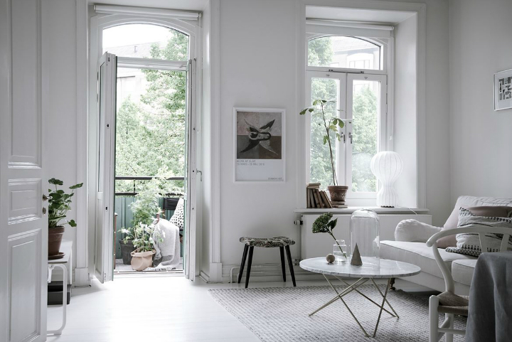 White With Grayish Tones apartment interior 14