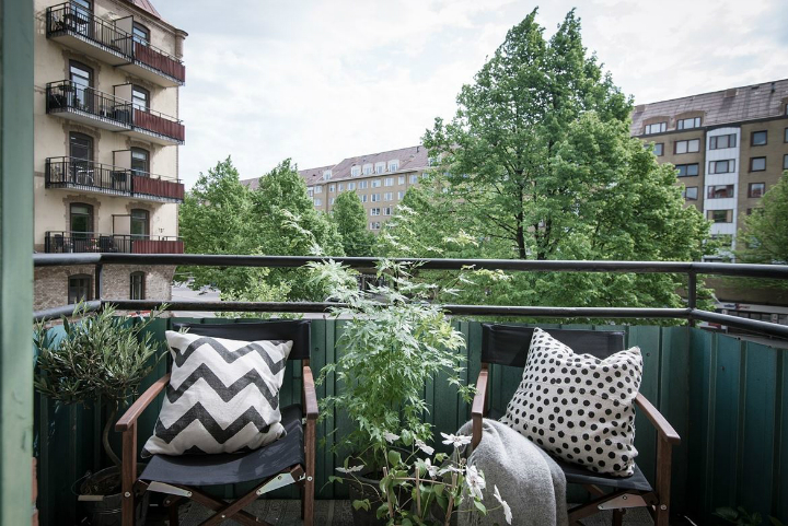 White With Grayish Tones apartment interior 17