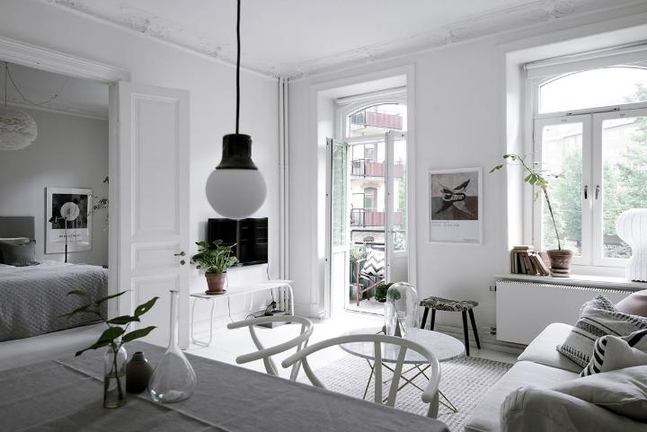 White With Grayish Tones apartment interior 18