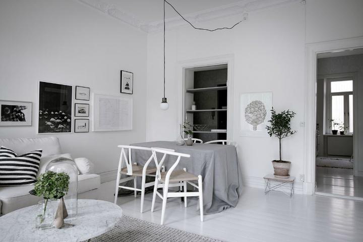White With Grayish Tones apartment interior 19
