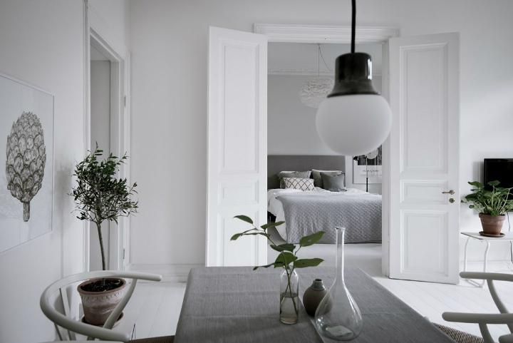 White With Grayish Tones apartment interior 2
