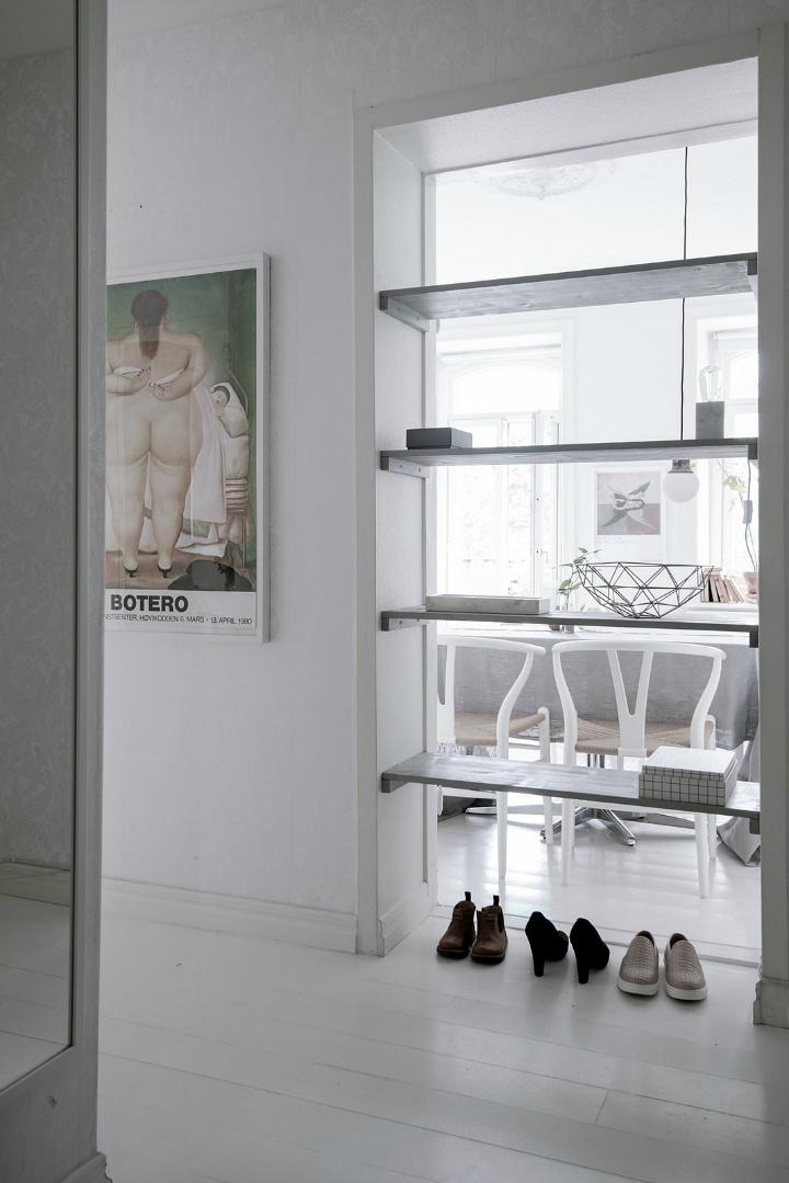 White With Grayish Tones apartment interior 20