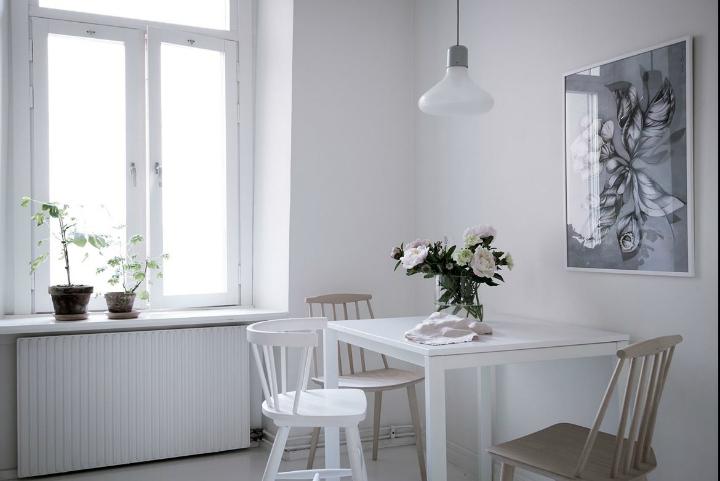 White With Grayish Tones apartment interior 22