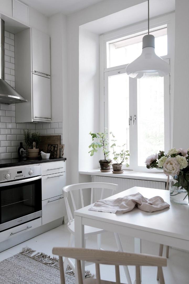 White With Grayish Tones apartment interior 25