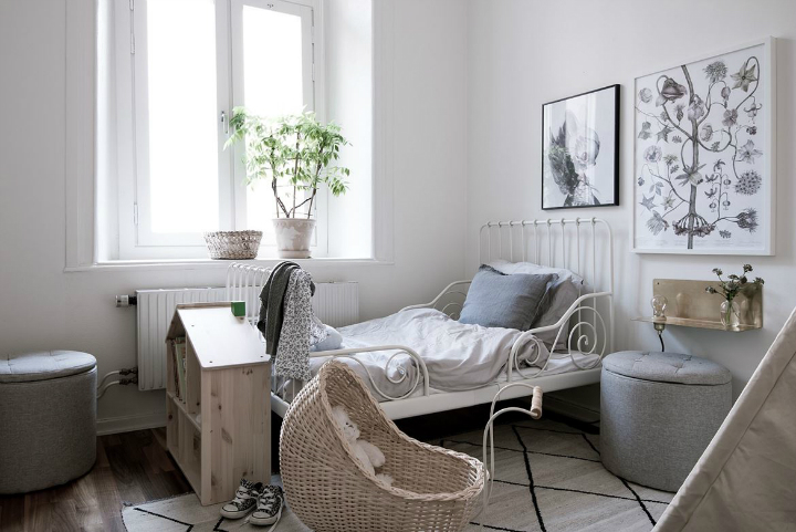 White With Grayish Tones apartment interior 26