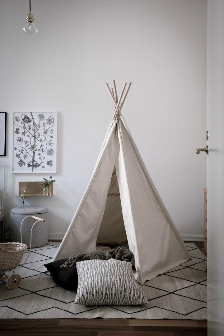 White With Grayish Tones apartment interior 27