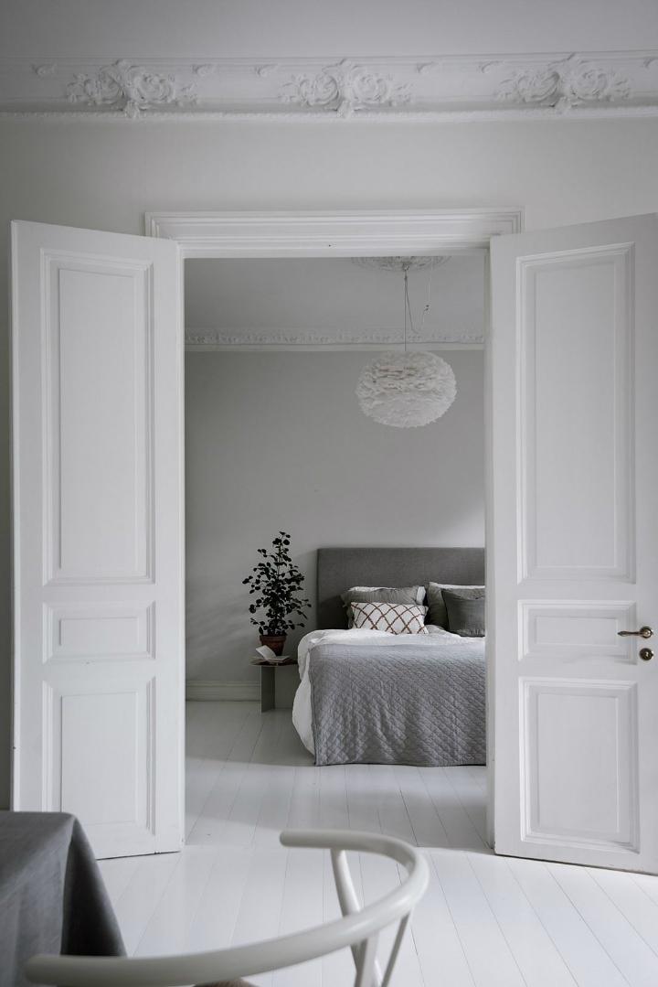 White With Grayish Tones apartment interior 4