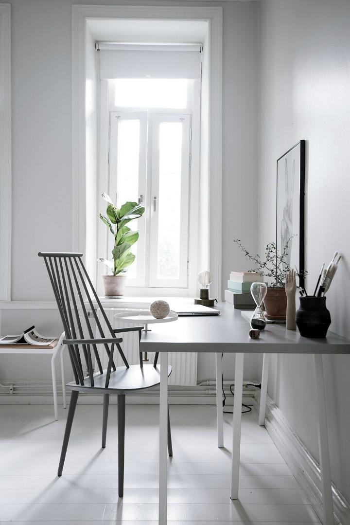 White With Grayish Tones apartment interior 8