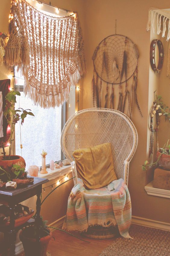 26 bohemian living room ideas decoholic for Decor dreams