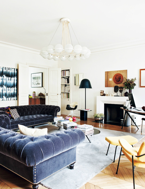 Eclectic Parisian Apartment 2